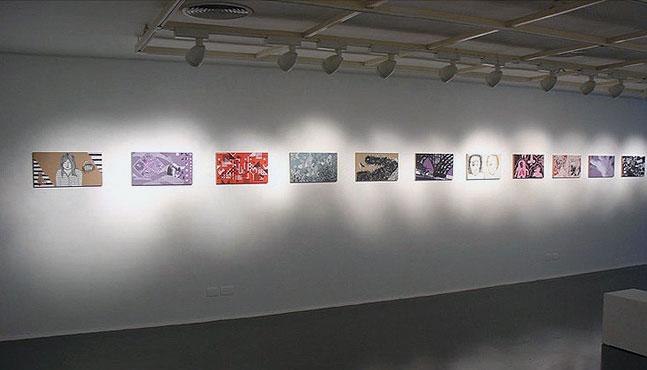 Exposición en el Sesc Ribeirão Preto en 2009 :: Mada Elek