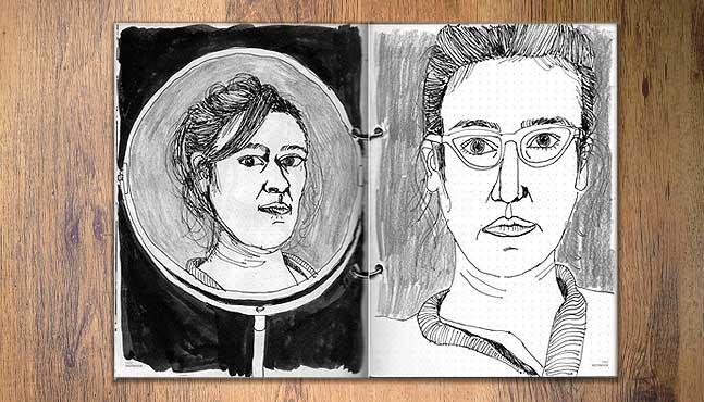 Ilustraciones 1 y 2 :: Mada Elek