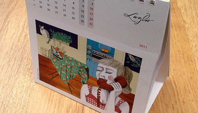 El calendario :: Mada Elek