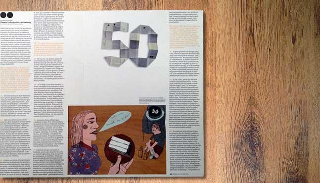 La publicación Plec nº50 vista por dentro :: Mada Elek