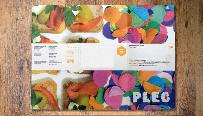 La publicación Plec nº50 vista por fuera :: Mada Elek