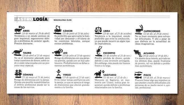"""""""12 signos del zodiaco"""" :: Mada Elek"""