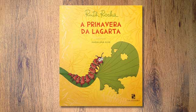 "Cubierta ""A primavera da lagarta"" :: Mada Elek"