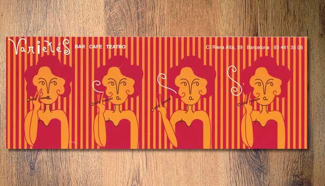 """Café Bar """"Varietés :: Mada Elek"""