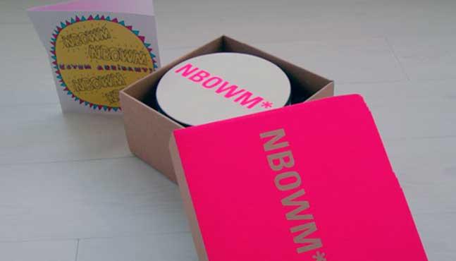 Tres elementos de la campaña (tarjeta, tambor y caja) :: Mada Elek