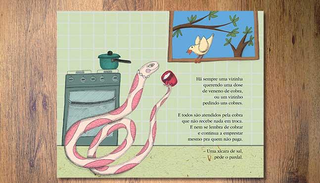 """""""A Cobra que não sabia cobrar"""" :: Mada Elek"""