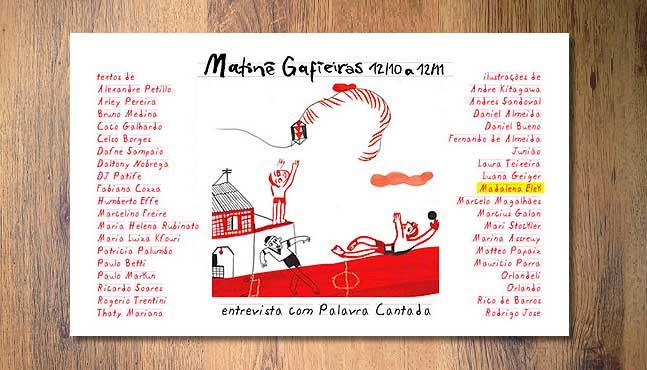Invitación con diseño de Andrés Sandoval :: Mada Elek