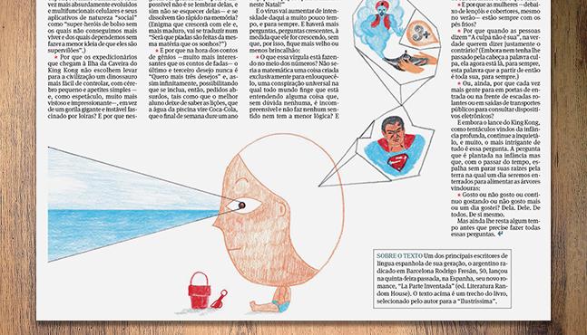 """Ilustración para el cuaderno """"Ilustríssima""""  :: Mada Elek"""