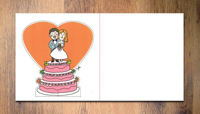 Invitación de boda Belén y Nacho  :: Mada Elek