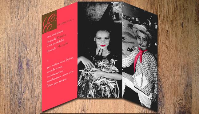 Invitación de boda Renata y Marcelo  :: Mada Elek