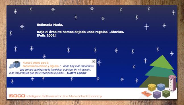 Tarjeta virtual navideña para Lavinia  :: Mada Elek