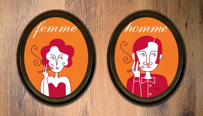 Imagen gráfica Café Bar Varietés  :: Mada Elek