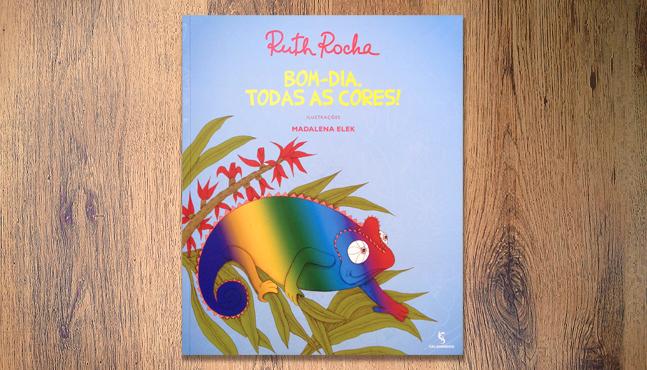 """Cubierta del libro """"Bom-dia, todas as cores!"""" ::  Mada Elek"""