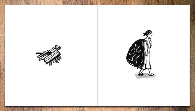 """Ilustración: """"Desamparo""""  :: Mada Elek"""