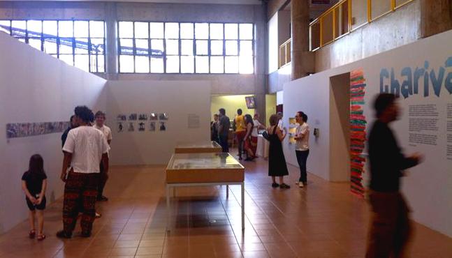 Exposición Charivari Sesc São Carlos