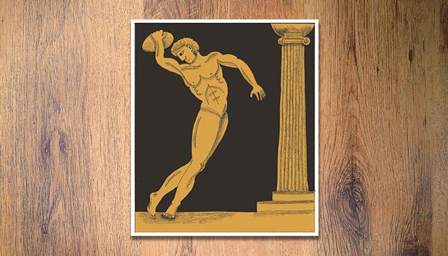 """""""El deporte en la Grecia antigua"""" :: Mada Elek"""