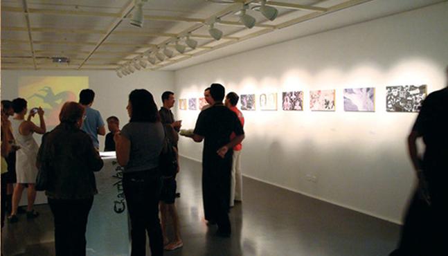 Exposición en el Sesc Ribeirão Preto en 2009