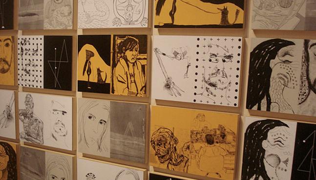 Exposición en el Sesc Santos en 2011