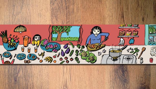 Mural para el Mercado de Lleida  :: Mada Elek