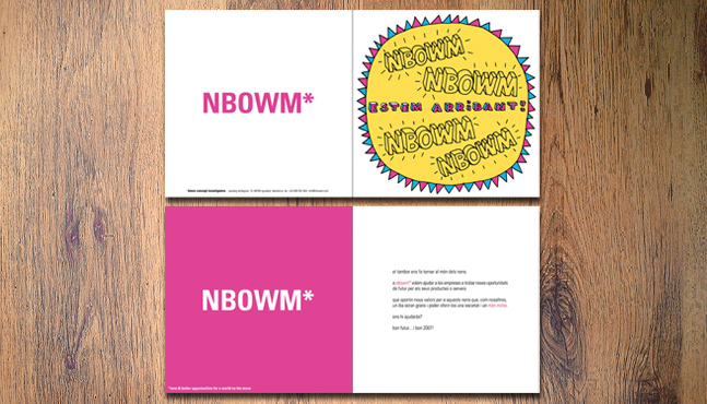 Tarjeta lanzamiento NBOWM*  :: Mada Elek