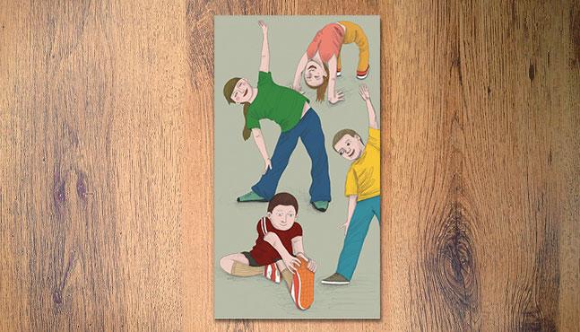"""Ilustración para la portada de """"Ensino Fundamental II"""" :: Mada Elek"""