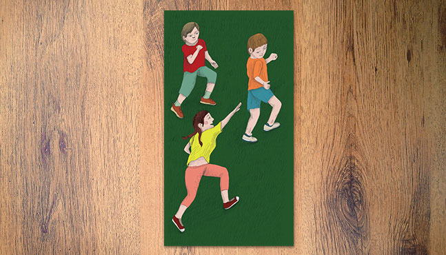 """Ilustración para la portada de """"Ensino Fundamental I"""" :: Mada Elek"""